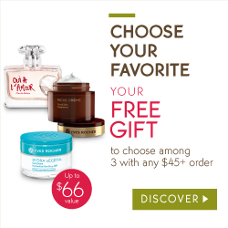 FREE Gifts With Every Yves Rocher Order