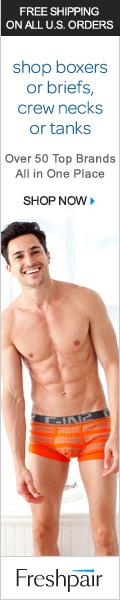 Men's underwear & swimwear at Freshpair
