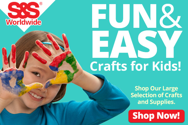 S&S Worldwide Crafts for Kids
