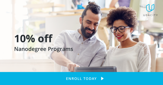 Join udacity courses today at discounted price. For more information check our Facebook page