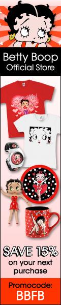 15% Off in the Betty Boop Official Store!