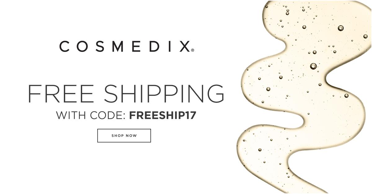 Free Shipping | Facebook - CosMedix