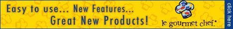 LeGourmetChef.com 486x60 Logo Banner