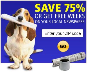 Save 75% on Your Local Newspapers