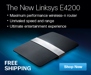 New LInksys E4200 Router