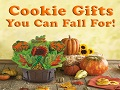 Thanksgiving Cookie Gifts for Fall Celebration