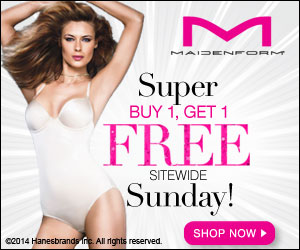Sunday BOGO FREE Maidenform Sale!