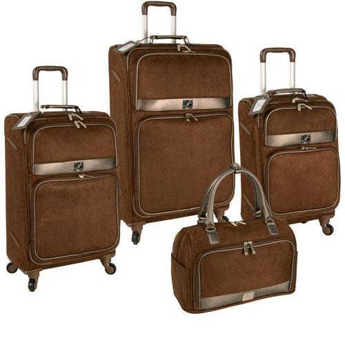 Diane von Furstenberg Viaggi Four Piece Spinner Luggage Set Now Only $318.47 Org. $900.00 Plus Free Shipping Use Promo Code DVFV at checkout.