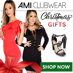 Shop AMIClubwear.com for Christmas Gifts