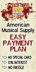 Get your guitar today with our Easy Payment Plan
