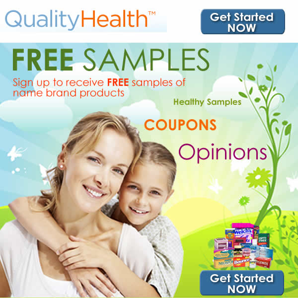 FREE Samples and Coupons for Brand Name Products!
