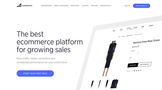 BigCommerce - The best ecommerce platform for growing sales. Start your Free Trial Now!