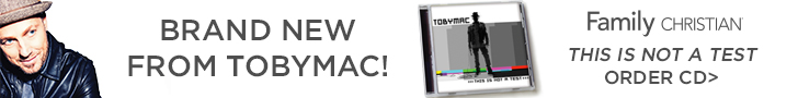 New tobyMac album: This is Not a Test