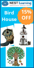 Nest Birdhouse Get 15% OFF