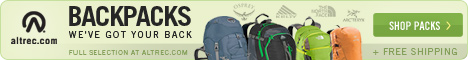 We have your Back - Shop Backpacks at Altrec