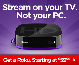 Netflix and Amazon Video on Demand on Roku Digital