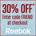 Reebok: 30% Off Friends & Family Sale