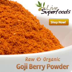 Raw Organic Goji Berry Powder