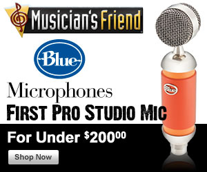 Blue Pro Studio Microphones for Under $200!