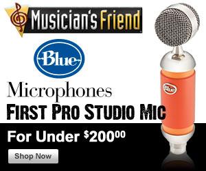 Blue Pro Studio Microphones for Under $200!