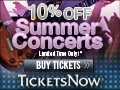 10% OFF All Concerts