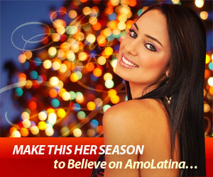Amolatina Christmas New Year banner 2011-2012