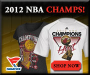 Shop Miami Heat 2012 NBA Champions gear at Fanatics!