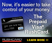 Build Credit with RushCard!