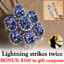 $300 Gift Coupon at Stauer with Tanzanite Purchase