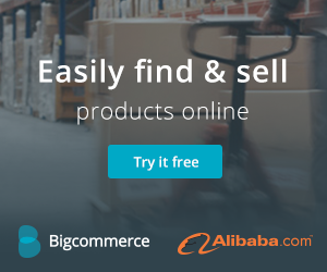Easily Find & Sell Products Online with Bigcommerce and Alibaba.com! Try it Free Now!