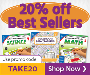 300x250 Interactive Notebooks & Classroom Data Tracking Coupon Special – Ends September 20th