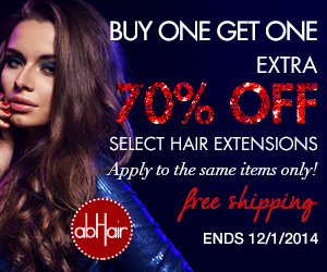 Hair extensions buy one get one extra 70% off +Free shipping