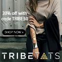 TribeTats Metallic Flash Tattoos