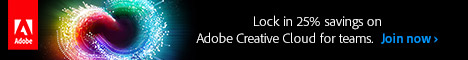 Creative Cloud for Teams.  Save 25% for up to two years.