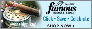Click. Save. Celebrate. - Famous Smoke Shop Cigars