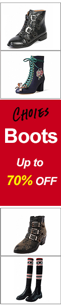 It's Boots Season , Up To 70% off at Choies Shop !