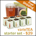 buy a sampler of tea online at Adagio Teas