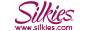 Silkies Logo with web address