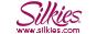Silkies Logo with web address