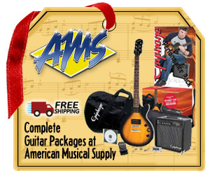American Musical Supply Guitar Packages