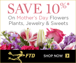 Delight Mom with Mother's Day flowers and gifts from FTD. Choose from a wide variety of floral arrangements, gift baskets, jewelry, chocolates, and much more.