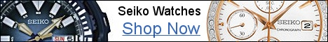 Seiko watches at authorized dealer BillyTheTree.com