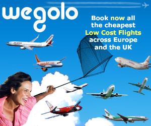 wegolo flights uk