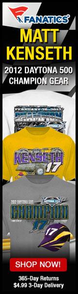 Get your Matt Kenseth 2012 Daytona 500 Winner Gear