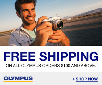 Free Shipping on all Olympus Orders over $100