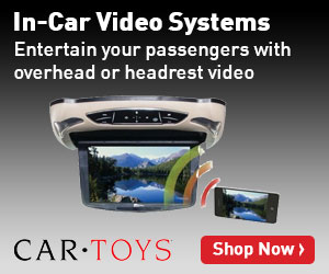 In-Car Video Systems at Car Toys