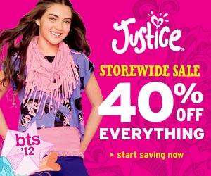 Shop Justice! Happy Holidays