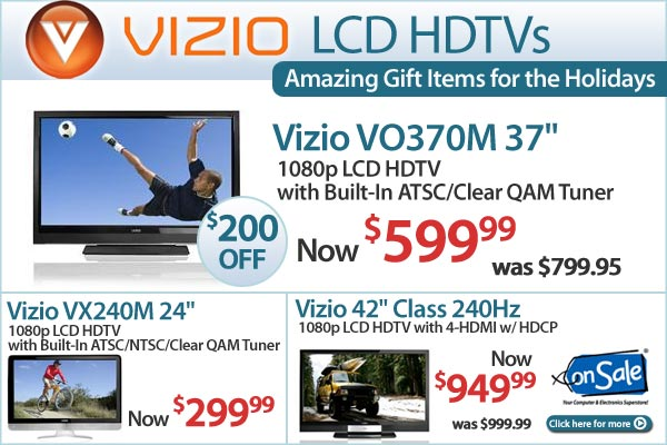 Entertainment Deals - LCD HDTVs, Bluray Players