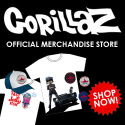 Gorillaz Official Merchandise - Shop Now