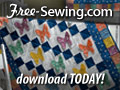 Free crib quilt pattern to sew - download today!